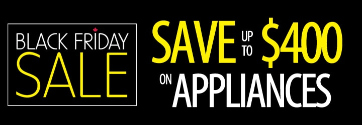Save up to $400 on Appliances
