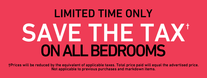 Save the Tax on all Bedrooms