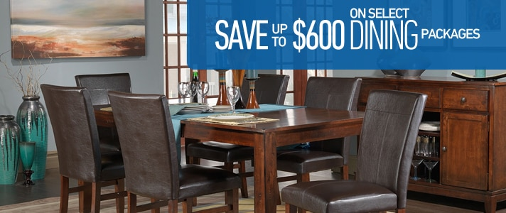 Save up $600 on select Dining Packages