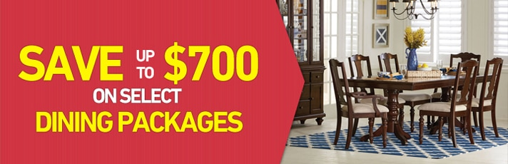 Save up $700 on select Dining Packages