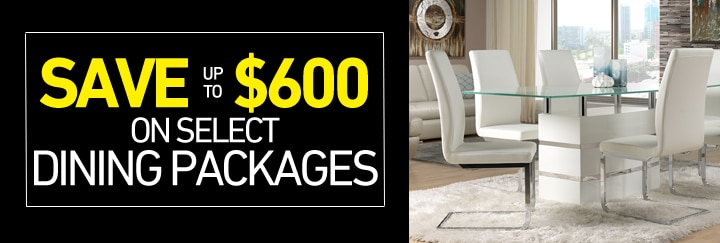 Save up to $600 on select Dining Packages