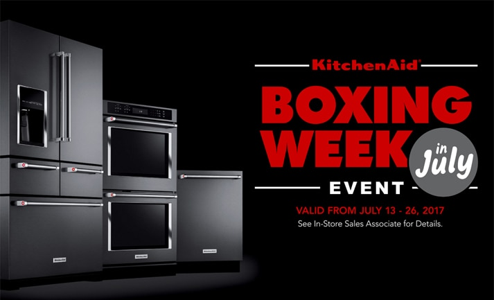 Kitchen Aid Limited TIme Offers
