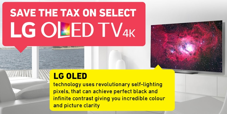 Save The Tax On Select LG OLED TVs