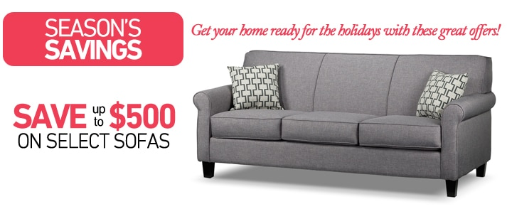 Save Up To 500 On Select Sofas