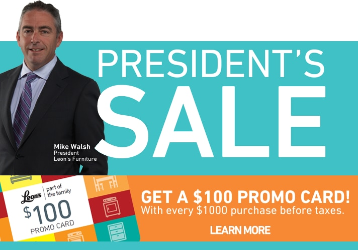 President's Sale - On Now!