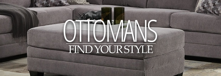 Leon's Furniture Ottomans