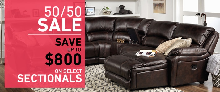 Save up to $800 on select Sectionals
