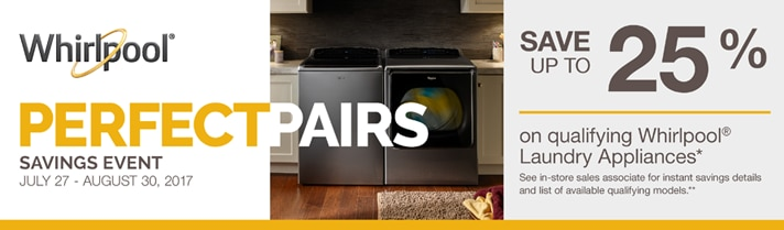 Whirlpool Limited Time Offers