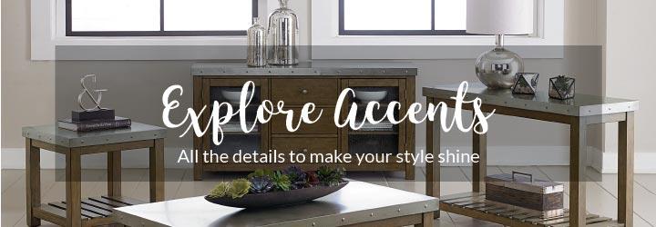 Levin Furniture Explore Accents