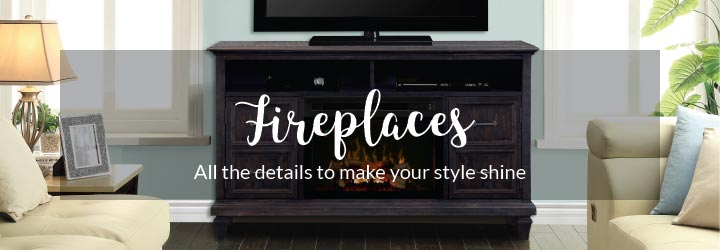 Levin Furniture Fireplaces
