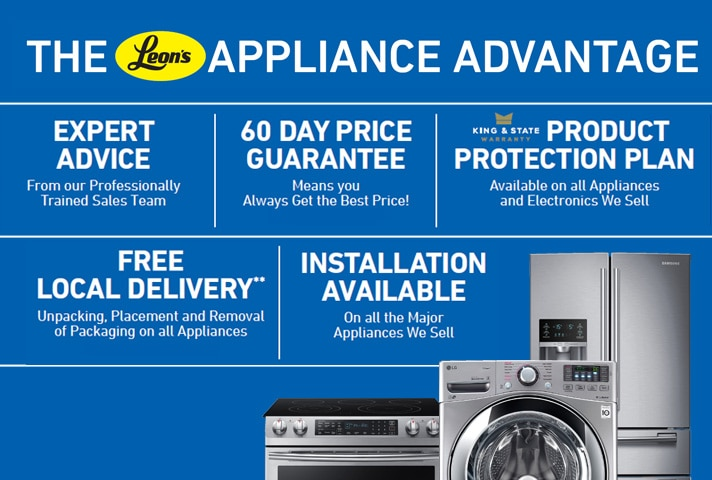 The Leon's Appliance Advantage