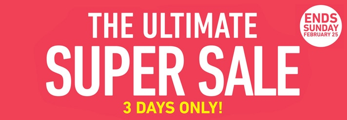 The Ultimate Super Sale