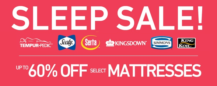 Sleep Sale on Now!